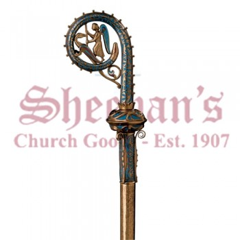 Crozier with St Michael and Dragon