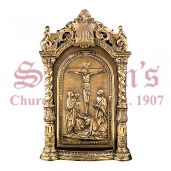 Tabernacle with Crucifixion Scene