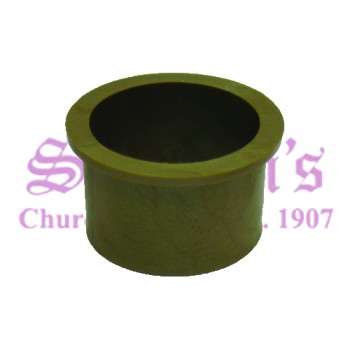 Charming Plastic Communion Cup Silencer with bright golden appeal