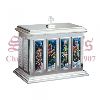 Tabernacle with Fire Enamel Panels