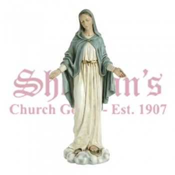 "Our Lady of Grace Outdoor / Indoor 24"" Statue"