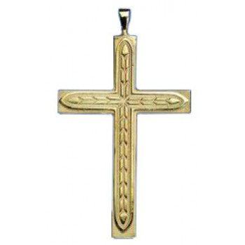 Gold Pectoral Cross