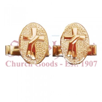 Deacon Cross Cuff Links
