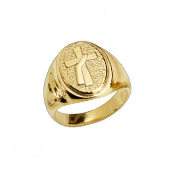 Deacon Cross Ring