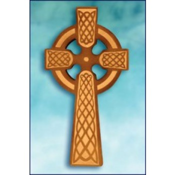 "Laser Etched 8"" Celtic Cross"