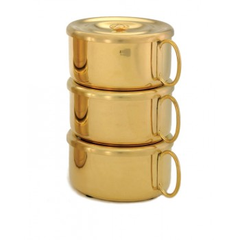 24kt Gold Plated Stacking Ciboria