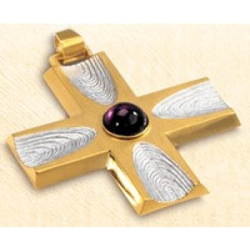 Pectoral Cross from Slabbinck with Stone