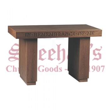 """In Remembrance of Me"" Communion Table"