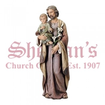 "Joseph and Child 37"" Figure"