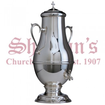 Silver Plated Holy Oil Container
