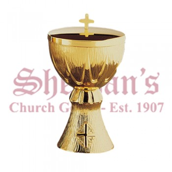 Ciborium Modern Style Cross of Thorns
