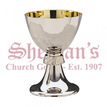 Stainless Steel Chalice and Scale Paten