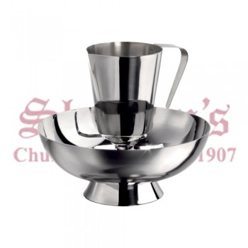 Stainless Steel Jug and Basin