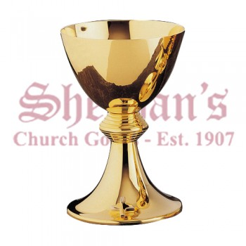 Classic Metalware Chalice gold plated brass