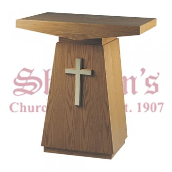 Credence Table with Gold Cross