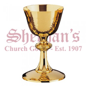 Simple style Chalice and Peten Memorail gold plated