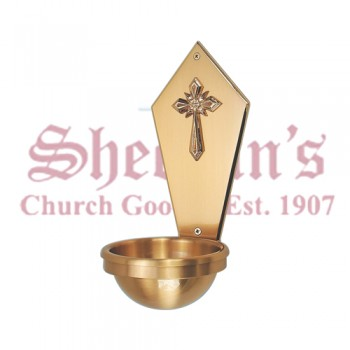 Holy Water Font  Bronze