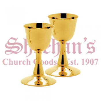 Principal Chalice or Serving Chalice Brass Gold Plated