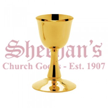 Contemporary Principal Chalice with Brass Gold Plated