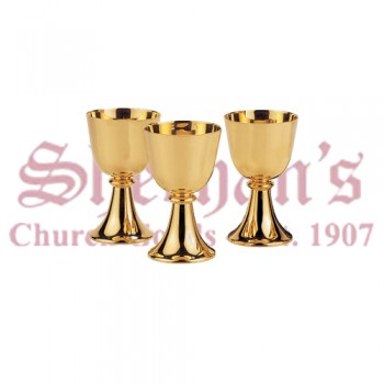 Artimetal Serving Chalice Brass Gold Plated