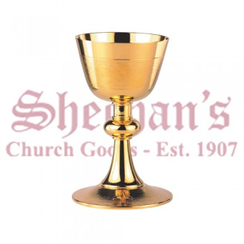 Artimetal Contemporary Cross on base Chalice
