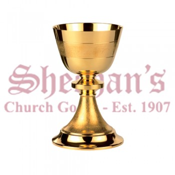 Artimetal Contemporary textured cup and base Chalice