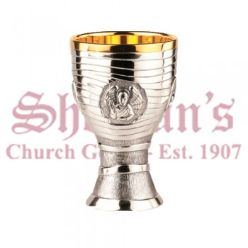 Brass Silverplated Chalice