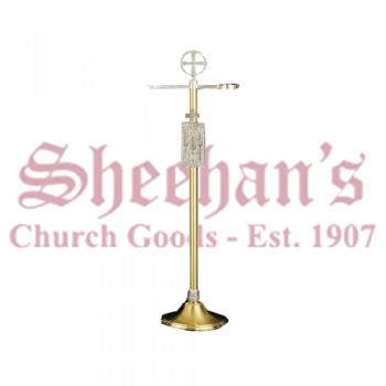 Modern Brass Finish Censer Stand