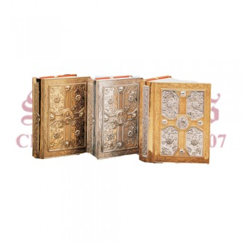 Classic Brass Two Tone (gold and silver) Book Cover