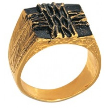 Bishop Ring Gold Plated