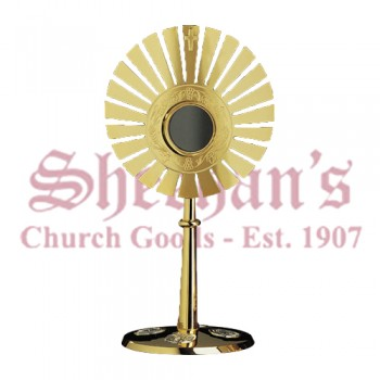 Gold Plated Monstrance
