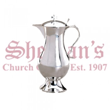 Classic Flagon Brass silverplated
