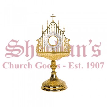 Gothic Style with filigree work Monstrance