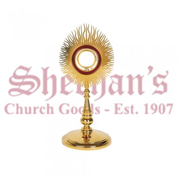 Classic Style with Red enameled Monstrance