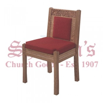 Solid Oak Side Chair