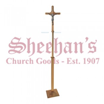 Processional Crucifix in Satin Finish
