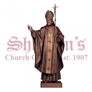 Pope John Paul II Italian Made Statue