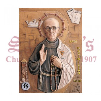 St. Maximilian Kolbe - High Relief