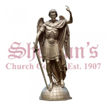 St. Michael - Full Round Figure