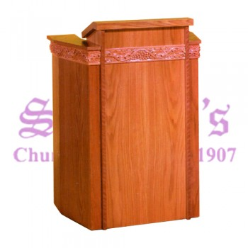 Pulpit with Grapevine Trim