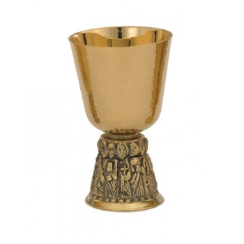 Communion Cup with Twelve Apostles Base