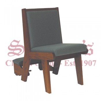 Solid Oak Frame Chair