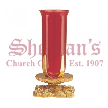 Altar Sanctuary Lamp in High Polish Bronze