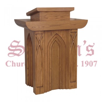 Gothic Style Pulpit