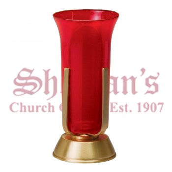 Sanctuary Lamp with Round Base