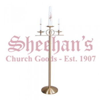 Wedding Floor Candelabra 3 Lite