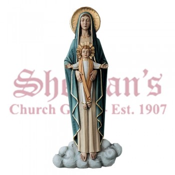 Our Lady Queen Of Angels - High Relief