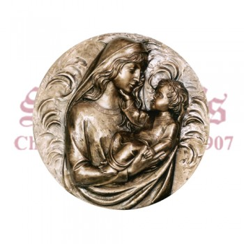Our Lady With Child - Medallion