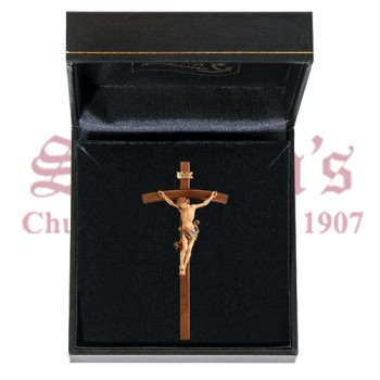 Leonardo Mini Crucifix in Case