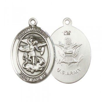 St. Michael / Army Large Pendant